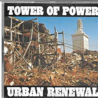 MY PRELOVED CD - TOWER OF POWER - URBAN RENEWAL / FREE DELIVERY (F9A)