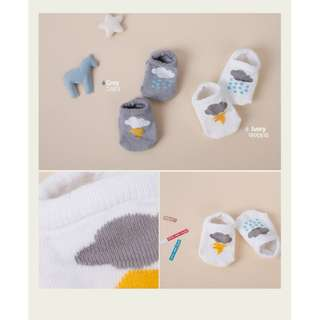 [INSTOCKS] Rainy Series Baby Socks