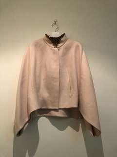 Ted Baker Nude Pink Cape Jacket NEW!!