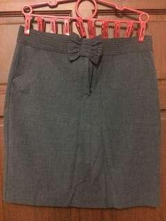 Preloved Skirt Gray