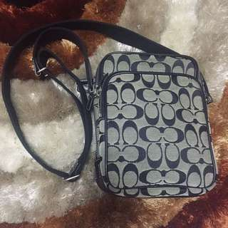 Authentic Coach black sling bag