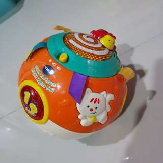 Vtech Baby Rolling ball rock & roll Toy with music