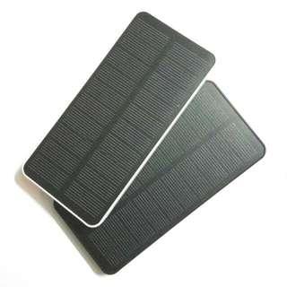 2x solar power bank - 1 Black 1 White