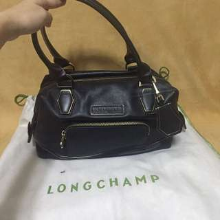 Authentic Longchamp leather bag