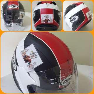 2803***ARC AR1 TAIRA RED Helmet For Sale 😁😁Thanks To All My Buyer Support 🐇🐇 Yamaha, Honda, Suzuki