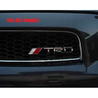 Toyota TRD Grill Emblem