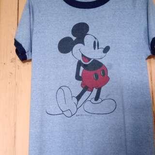 T-shirt Mickey Mouse Ringer VtG 50/50