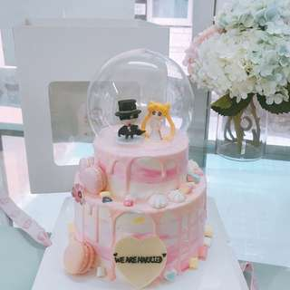 生日蛋糕百日宴蛋糕婚宴蛋糕派對到會結婚蛋糕
