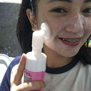 Facial foaming (brilliant)