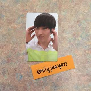 Eunhyuk SFS Sexy, Free & Single Photocard