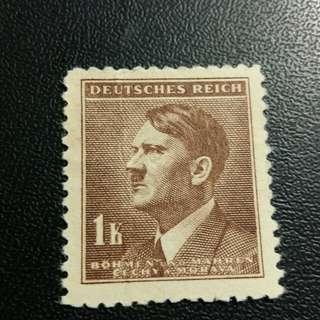 德國希特拉郵票新票