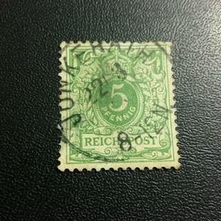 早期德意志郵票