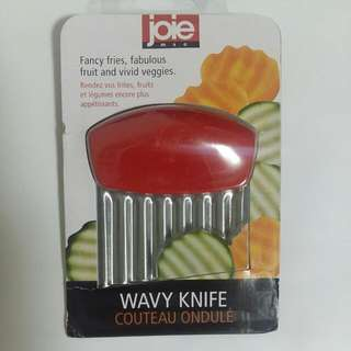 Montessori Knife Cutter Wavy Slicer Joie