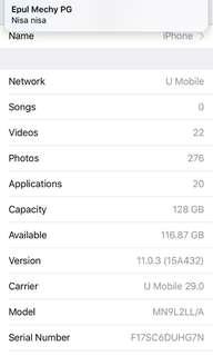 Urgent Sale iPhone7 128gb