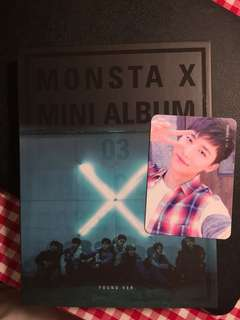 MONSTA X ALBUM PLUS IM PHOTOCARD