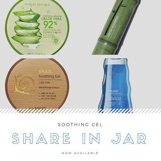 Share in Jar : Soothing Gel Nature Republic & The Saem