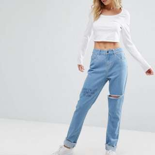 ASOS Noisey May Jeans