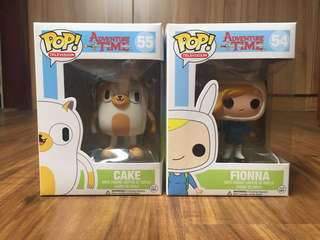 Fionna and Cake Funko Pop