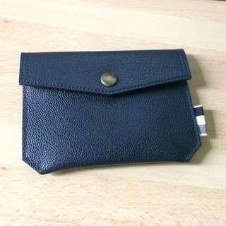 SALE: Thom Browne (Thom Grey by Thom Browne) pouch wallet cardholder 深藍色 Navy