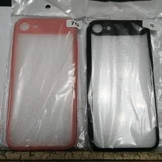 全新 Apple iPhone 8 / 7 背透 磨砂 軟膠 手機套 保護殼 ( +$10 送 玻璃貼 )