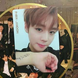 WTS WANNA ONE IPU PARK JIHOON NIGHT VER PC
