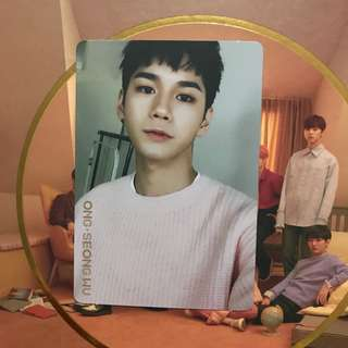 WTS WANNA ONE IPU ONG SEONGWU DAY VER PC