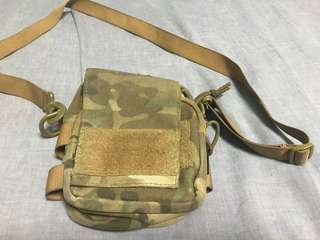 Tactical camo sling pouch