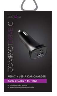 Energea Compact Drive C Car Charger