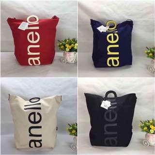 Anello Two-Way Canvas Tote Bag
