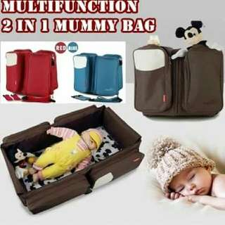 2 IN 1 MUMMY BAG