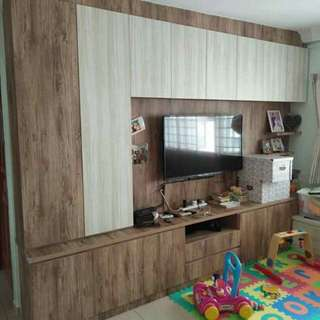 Custom wardrobe, cabinet, tv console and kitchen cabinets