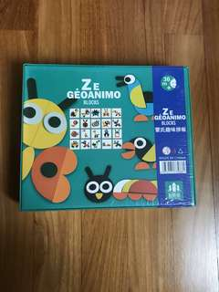 ZE Geoanimo Blocks (Montessori)