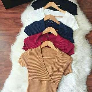 Knit import black