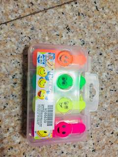 Negotiable highlighter orange,green,yellow,pink with box brand new
