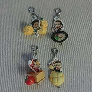 Haikyuu!! Tsunaga Link Up Food Mascots