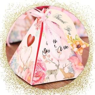 Wedding Candy Box/ Birthday Candy box Sweet box Gift box Door Gift box