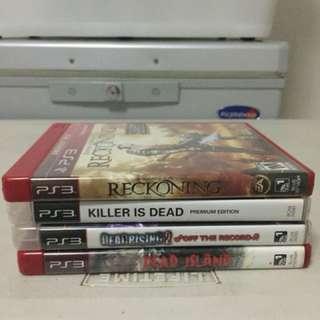 PS3 Games (Check description for details)