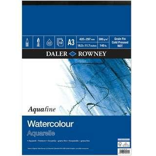 Daler Rowney watercolour paper (loose pieces)