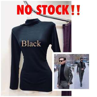 Black No stock