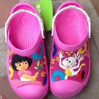 Repriced!!!Crocs Dora The Explorer