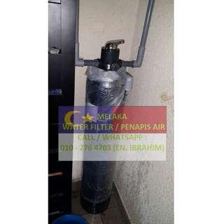 water filter outdoor master with installation at PULAU SEBANG MELAKA / penapis air utama luar rumah siap pasang di PULAU SEBANG MELAKA