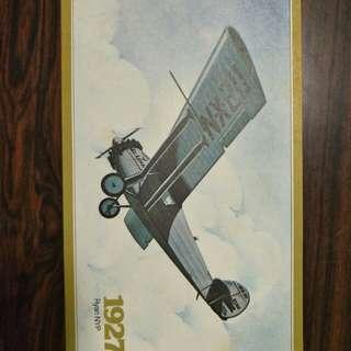 Vintage plane picture