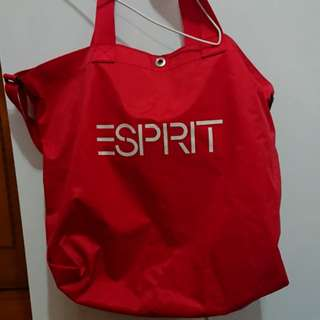 Esprit 紅色兩用袋