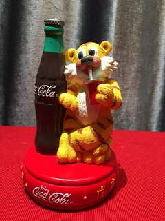 Coca Cola 1998 虎年紀念錢筒 Coin Bank