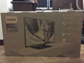 "Philips 32"" HD LED TV (brand new)"