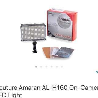 Amaran AL-H160 camera light rent