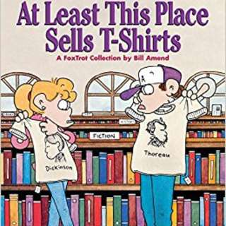Foxtrot Comics: At Least This Place Sells T-Shirts