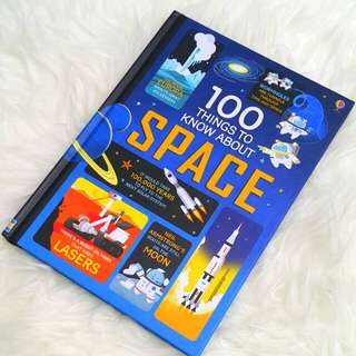 Children book - 100 things to know about space