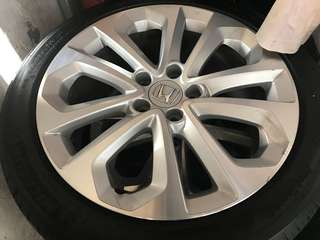 Honda Accord 2.4 original rim 18""
