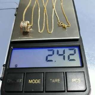 saudi gold,18k